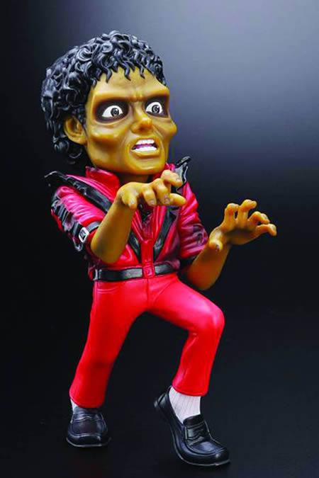 عروسک پلاستیکی احمقانه و ترسناک مایکل جکسون!!